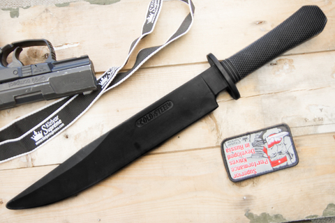 Тренировочный нож Rubber Training Laredo Bowie 92R16CCB 00044134