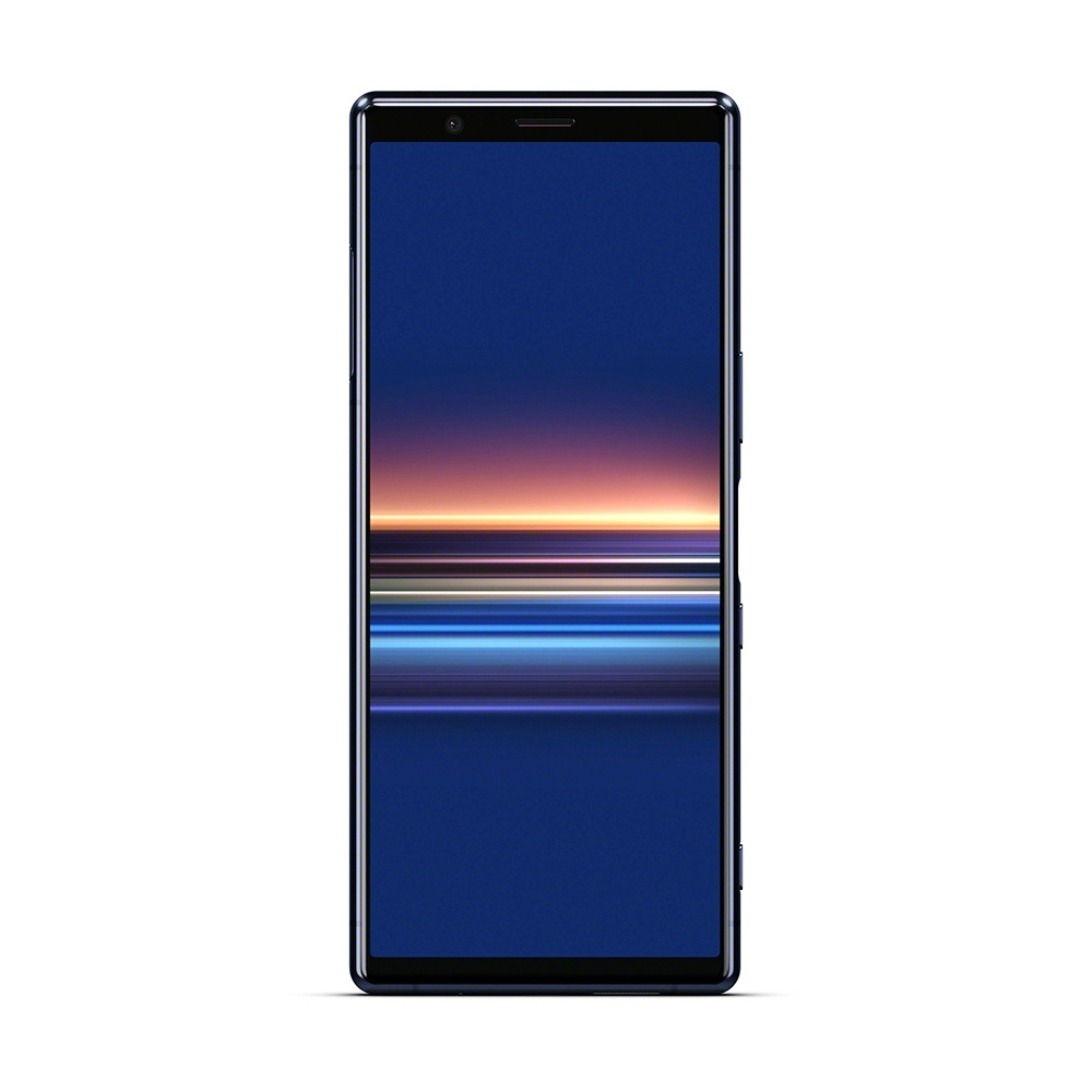 Смартфон Xperia 5 синего цвета