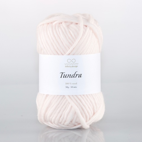Пряжа Infinity Tundra 4001 пудра