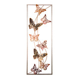 Панно настенное Бабочки 31,1х89,5 см, артикул 680-112, производитель - Lefard