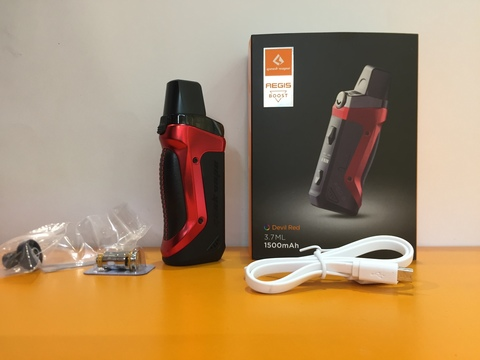 Набор Aegis Boost Pod-Mod Kit by GeekVape 1500mAh 3.7ml
