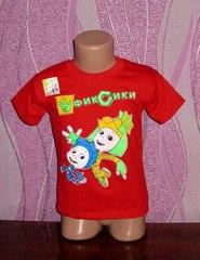 Стильная детская футболка Фиксики