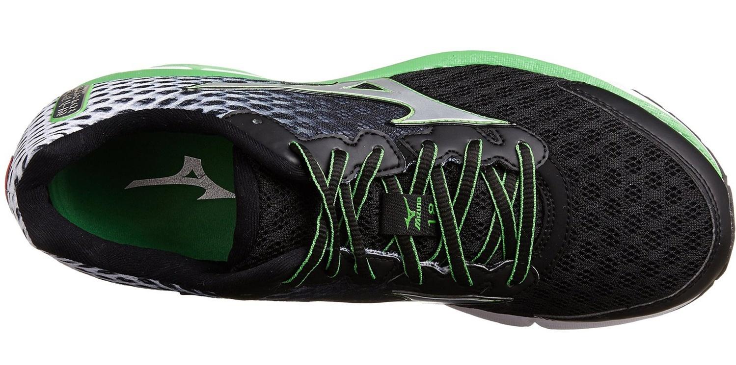 Мужские беговые кроссовки Mizuno Wave Rider 18 (J1GC1503 03) черные