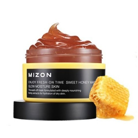 MIZON ENJOY Маска для лица ENJOY FRESH-ON TIME [SWEET HONEY MASK] 100мл