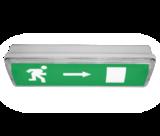 Светодиодный аварийный настенный светильник SL-223-30LED 1.8 исп.1 (04-30/1) постоянного действия