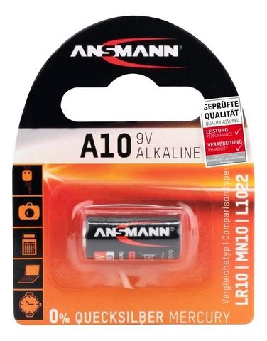 Батарейка A10 / LR10 ANSMANN 9V