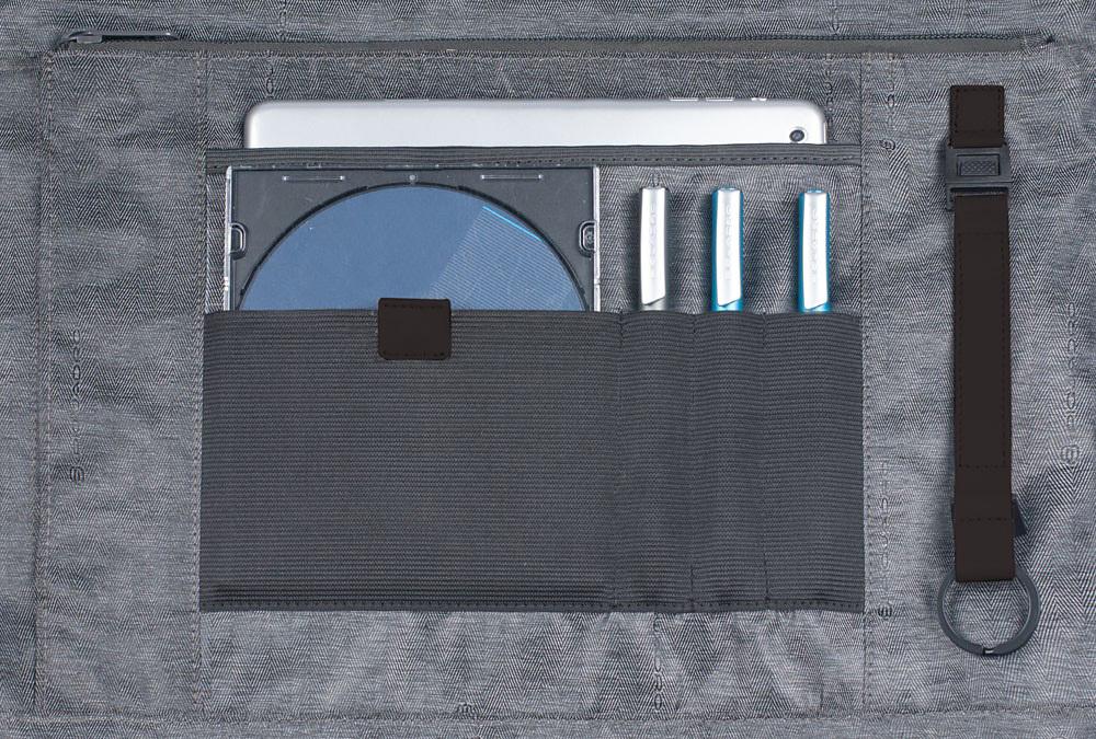 Сумка Piquadro Pulse, цвет коричневый, 30х41,5х6 см (CA1618P15/M)