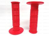 Мото грипсы FAST PRO, мягкие ручки руля, красные