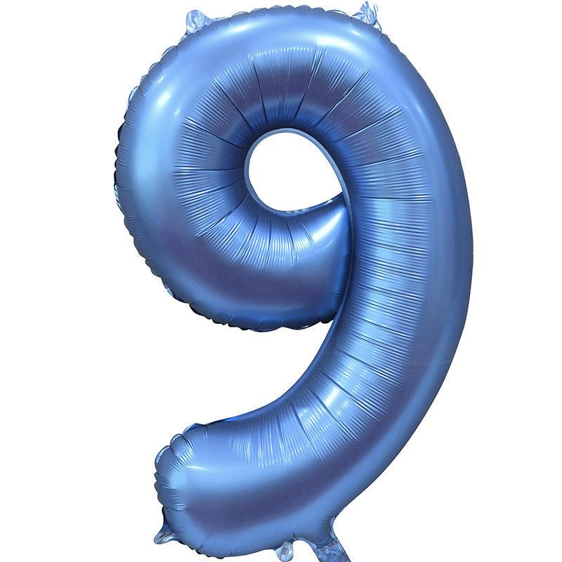Шары цифры Шар цифра сатин 9 синяя 7063.970.jpg