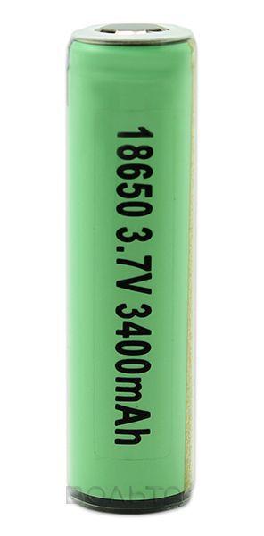 аккумулятор Panasonic 18650 Li-Ion 3400 mAh, защищенный