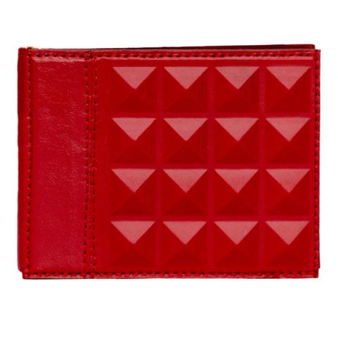 Зажим универсальный «Геометрия» красный