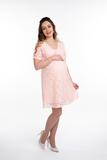 Платье для беременных 10077 кремовый