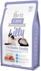 Корм для кошек с чувствительным пищеварением Brit Care Cat Lilly Sensitive Digestion Беззерновой с ягненком и лососем