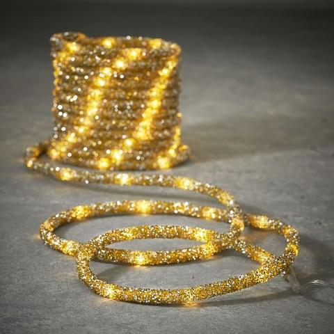 Дюралайт Luca Lighting золотой свет (100 ламп, длина 500 см)