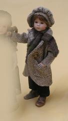 Кукла фарфоровая коллекционная Marigio Giacomino