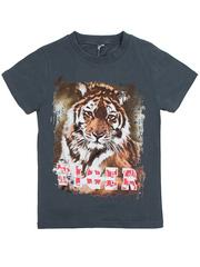 BK003-22 футболка детская, темно-серая