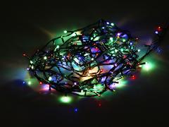 92333 Гирлянда мульти 100 LED 7,5м