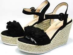 Обувь на лето женская Seastar YQ213black.