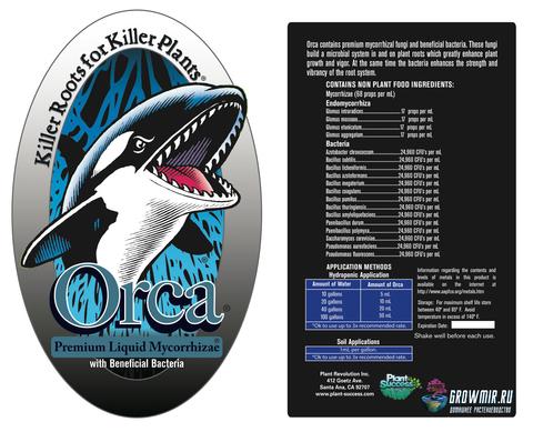 Жидкая микориза Orca Premium с полезными бактериями 473мл