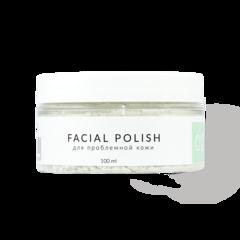 Пудровая маска-скраб для лица FACIAL POLISH для проблемной кожи, SmoRodina