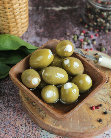 Оливки с сыром, 230гр