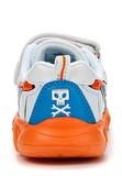 Кроссовки Самолеты (Planes) на липучках для мальчиков, цвет белый оранжевый. Изображение 3 из 8.