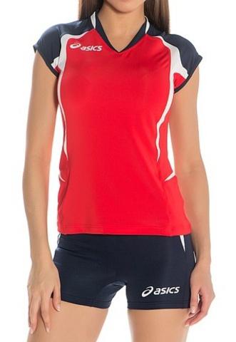 Asics Set Area Lady форма волейбольная красная