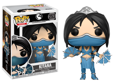 Funko POP! Vinyl: Games: Mortal Kombat: Kitana