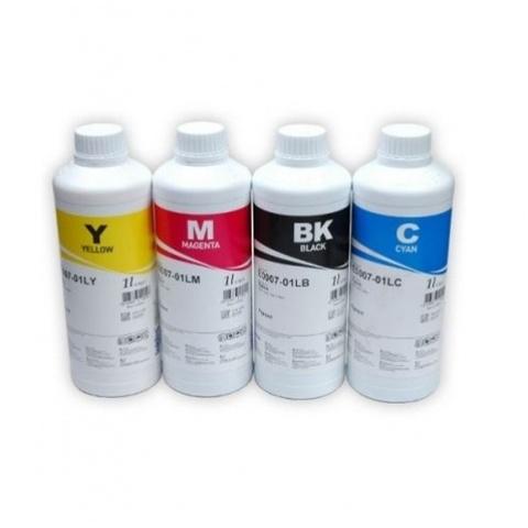 Комплект чернил InkTec H5088/H8950 пигмент + водные для принтеров HP (4x1000 мл)