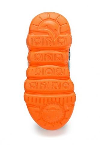 Кроссовки Самолеты (Planes) на липучках для мальчиков, цвет белый оранжевый. Изображение 6 из 8.