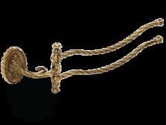 Полотенцедержатель двойной поворотный 45см Migliore Edera  ML.EDR-60.324