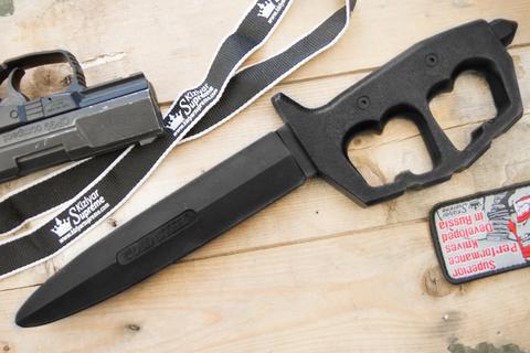 Тренировочный нож Trench Knife Double Edge Trainer 92R80NTP 00044139