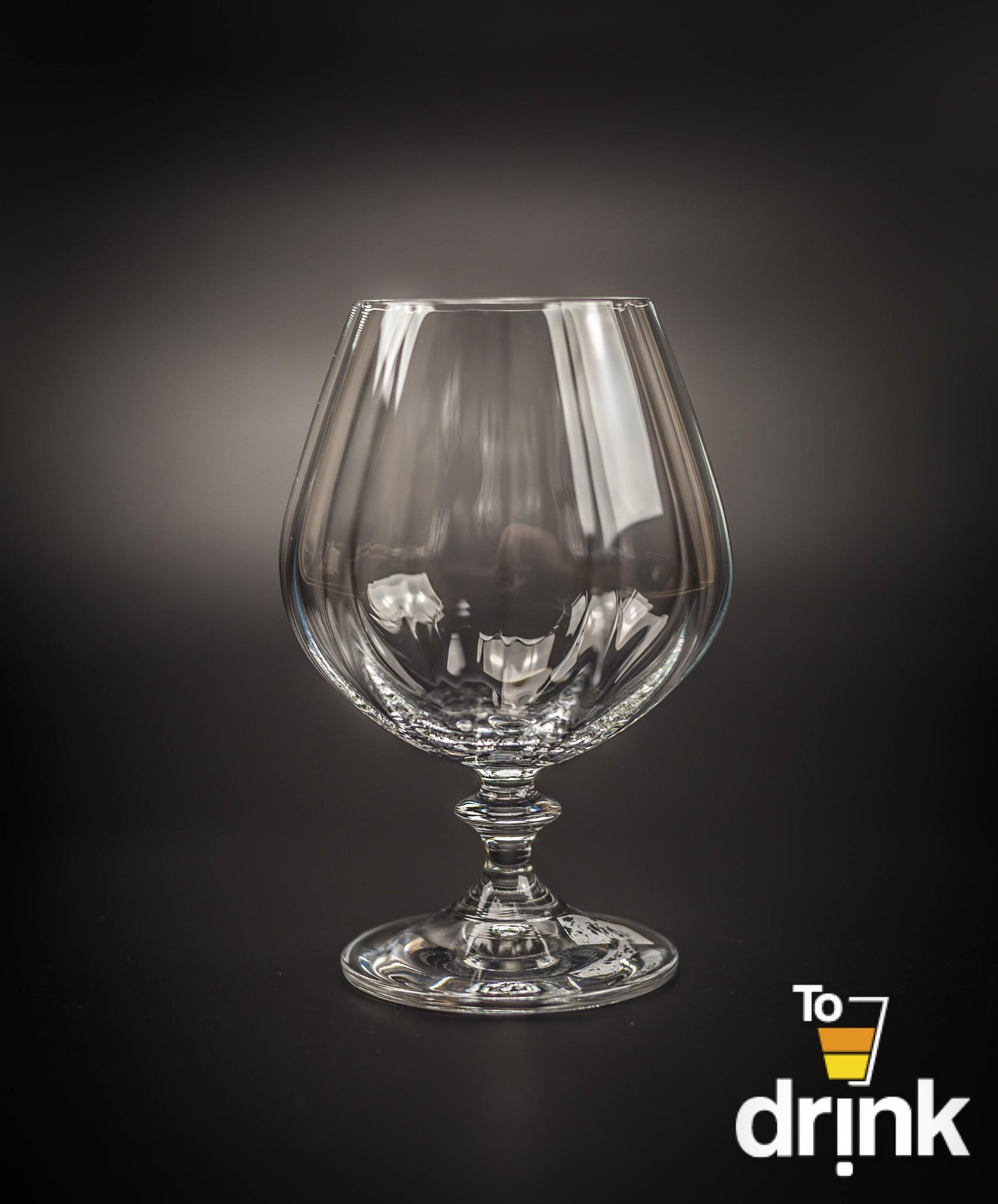 Набор из 6 бокалов для бренди, 400 мл набор бокалов для бренди bohemia crystal оливия 400 мл 6 шт