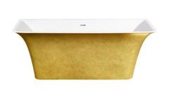Акриловая ванна Lagard EVORA Treasure Gold 160х77 см