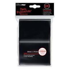 Ultra Pro - Протекторы чёрные (100 штук)