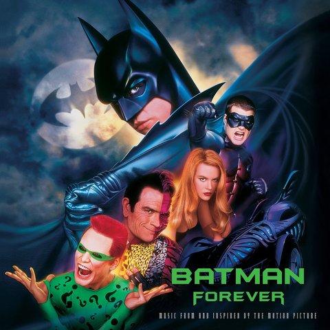 Комплект из 2-х виниловых пластинок. Batman Forever