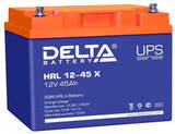 Аккумулятор Delta HRL 12-45 Х ( 12V 45  Ah / 12В 45  Ач ) - фотография