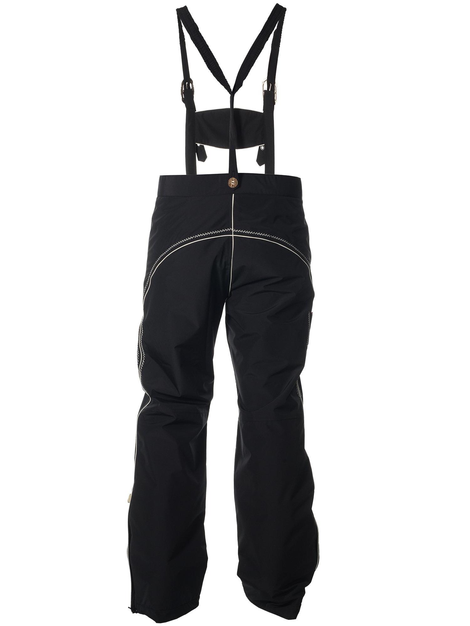 Мужские горнолыжные брюки Almrausch Lois 121326-0907 черные фото