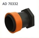 AD 70332 Заглушка для ленты Туман(GS) 32 мм