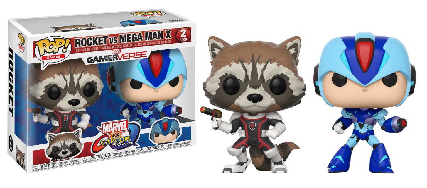 Фигурка Funko POP! Vinyl 2-Pack: Capcom vs. Marvel: Rocket vs MegaMan X 22773