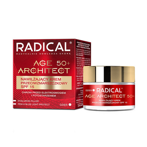 Farmona Крем от морщин увлажняющий 50+ SPF15 Radical Age Architect Moisturizing Anti Wrinkle Cream 50мл