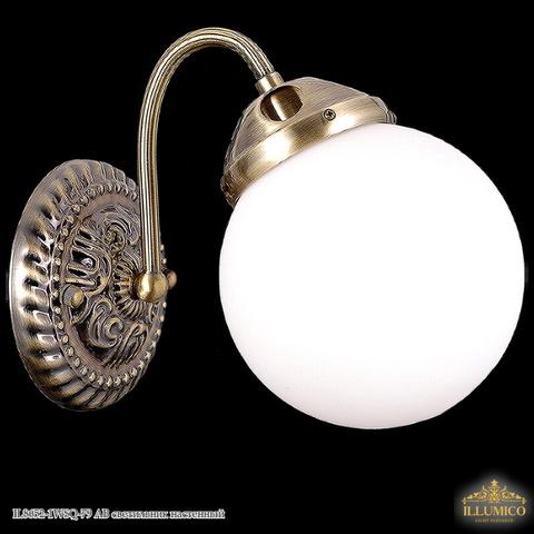 IL8652-1WSQ-79 AB светильник настенный
