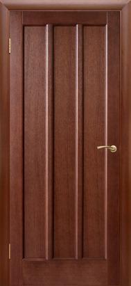 Троя, ПГ, Темный орех, Дверь межкомнатная, ДБ
