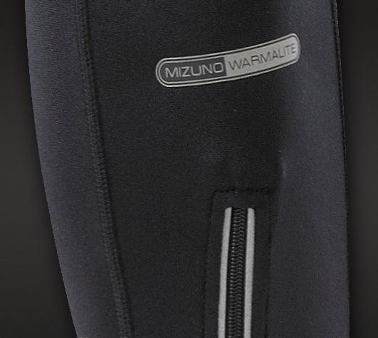 Женские тайтсы Mizuno Warmalite Long Tights  (77RT370 09) черный