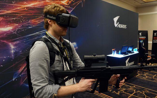 Комплект VR под Oculus CV1 ( рюкзак VR, ноут под CV1, шлем виртуальной реальности Oculus CV1)