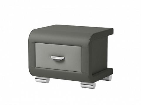 Тумба Орматек Orma Soft 3 Экокожа серый темно-серый