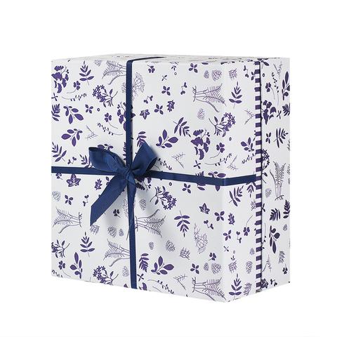 Коробка подар. Flower blue