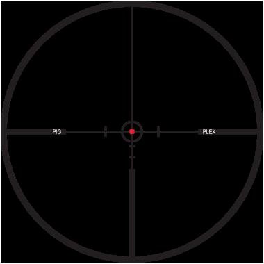 ПРИЦЕЛ LEUPOLD VX•R HOG 1,25-4X20, ПОДСВЕТКА MST, FIREDOT PIG PLEX, 30ММ, МАТОВЫЙ, 326Г