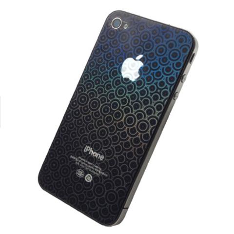 """Пленка защитная 3D """"шарики"""" для iPhone 4/4S/5/5C/5S  две стороны"""