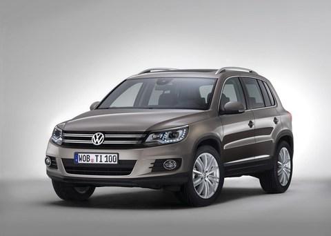 Защита фар для Volkswagen Tiguan 2007-2011 прозрачная, 2 части, EGR (224030)